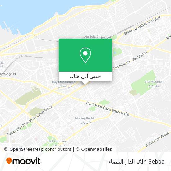 خريطة Ain Sebaa