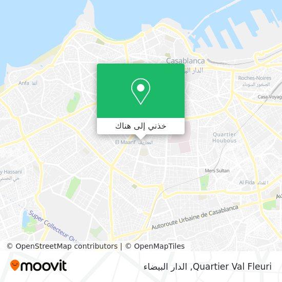 خريطة Quartier Val Fleuri