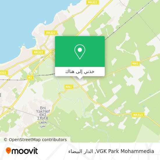 خريطة VGK Park Mohammedia