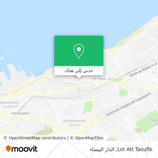خريطة Lot Att Taoufik