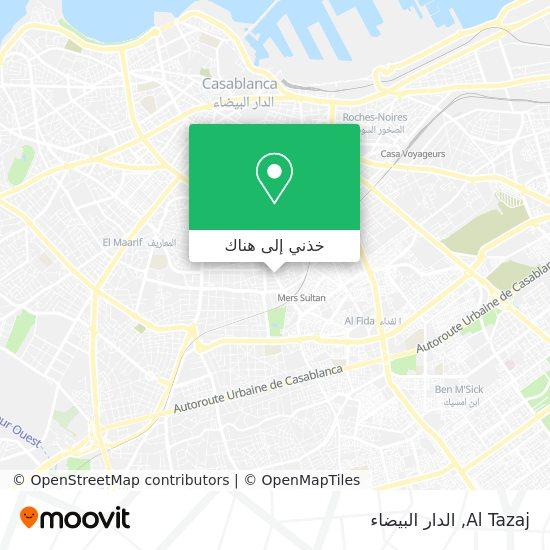 خريطة Al Tazaj