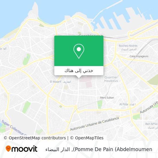 خريطة Pomme De Pain (Abdelmoumen)