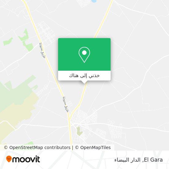 خريطة El Gara