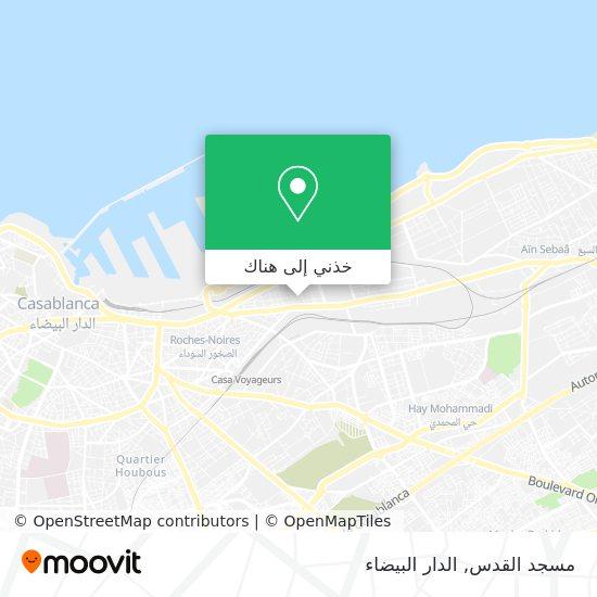 خريطة مسجد القدس