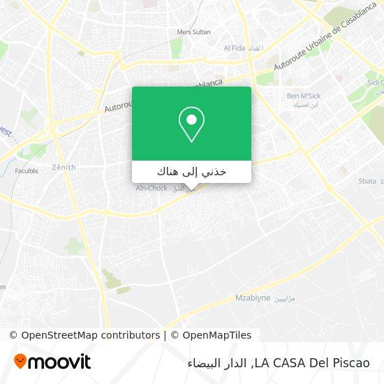 خريطة LA CASA Del Piscao