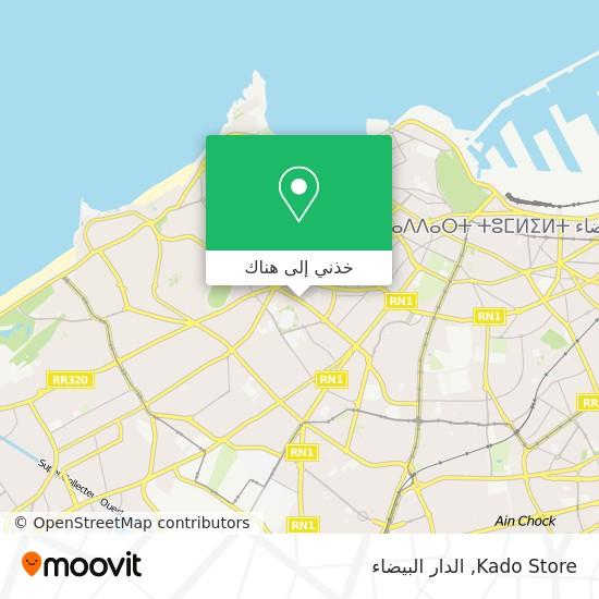 خريطة Kado Store