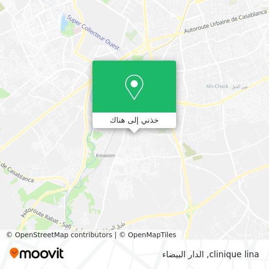 خريطة clinique lina