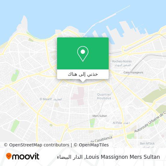 خريطة Louis Massignon Mers Sultan