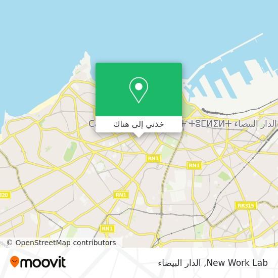 خريطة New Work Lab