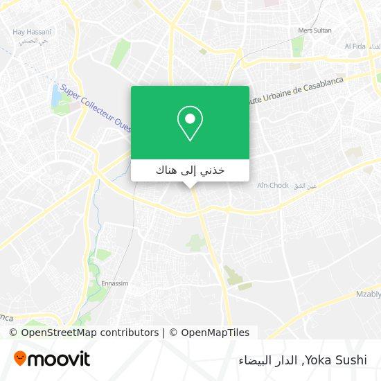 خريطة Yoka Sushi