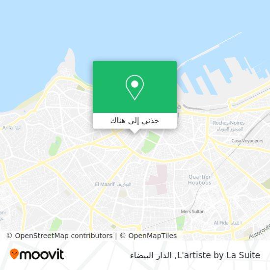 خريطة L'artiste by La Suite