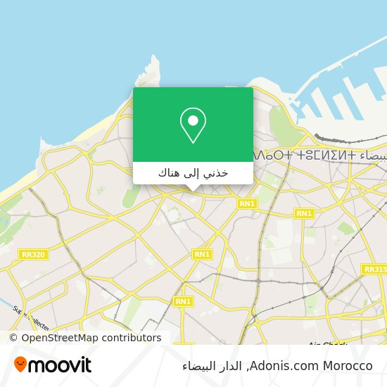 خريطة Adonis.com Morocco