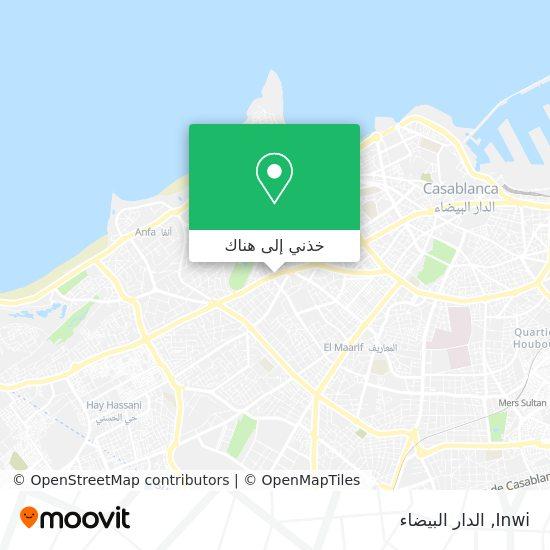 خريطة Inwi