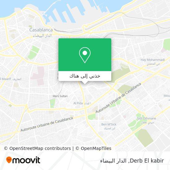 خريطة Derb El kabir
