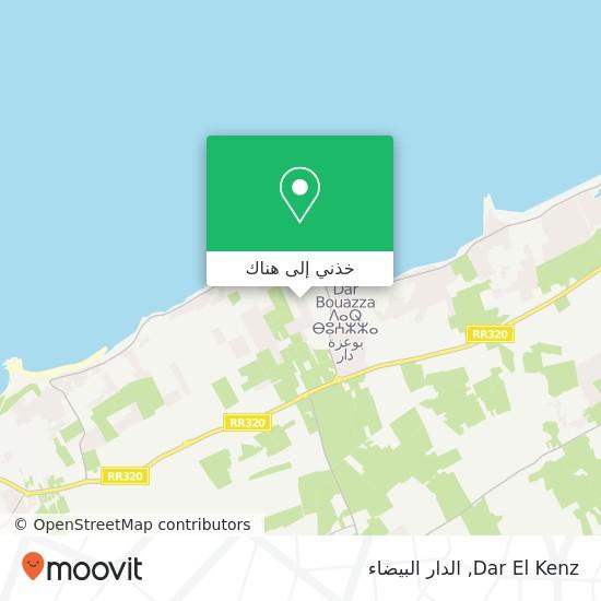 خريطة Dar El Kenz
