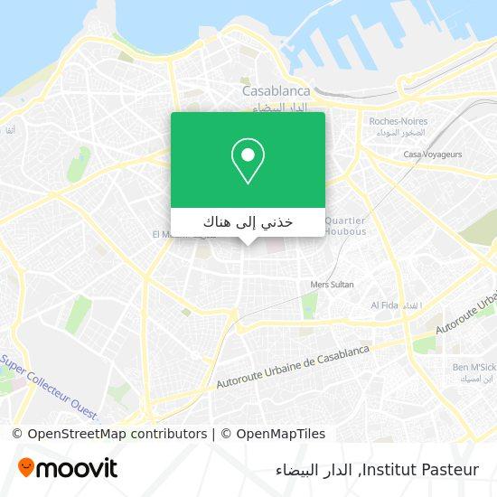 خريطة Institut Pasteur