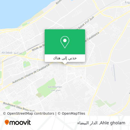خريطة Ahle gholam