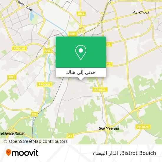 خريطة Bistrot Bouich