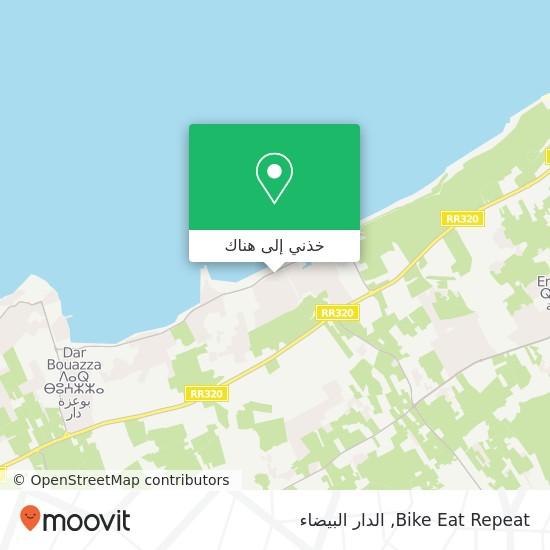 خريطة Bike Eat Repeat