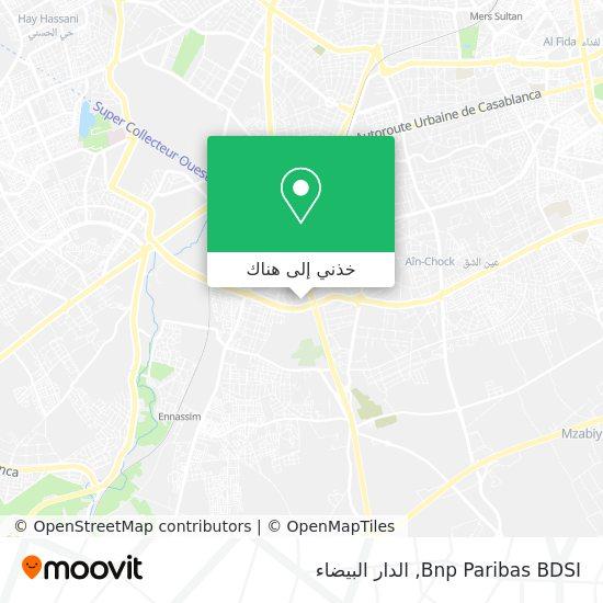 خريطة Bnp Paribas BDSI