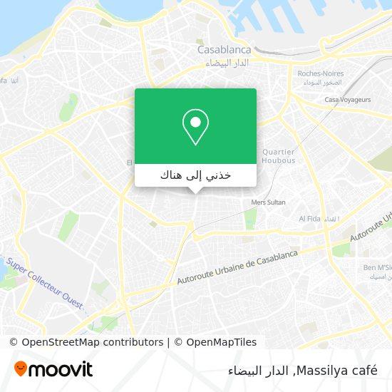 خريطة Massilya café