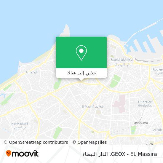 خريطة GEOX - EL Massira
