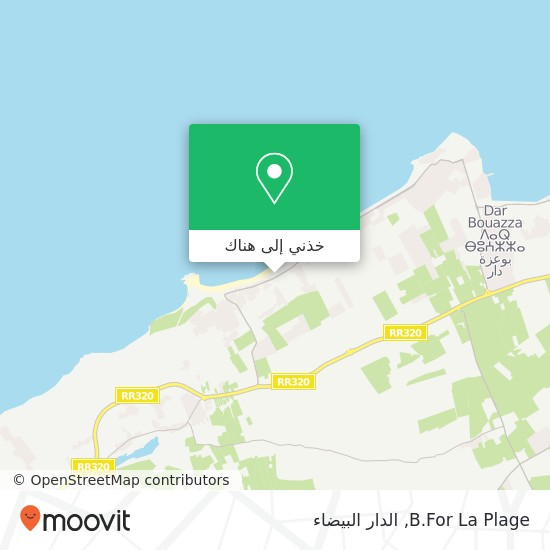 خريطة B.For La Plage