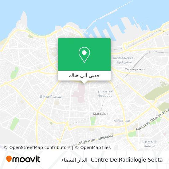 خريطة Centre De Radiologie Sebta