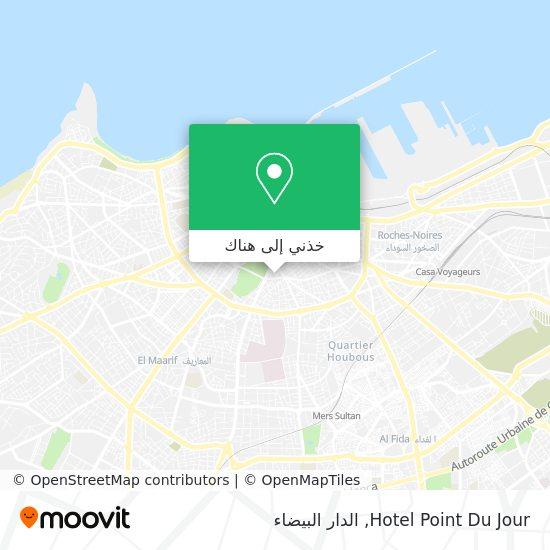 خريطة Hotel Point Du Jour