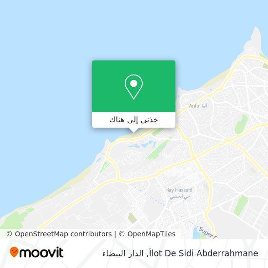 خريطة Îlot De Sidi Abderrahmane