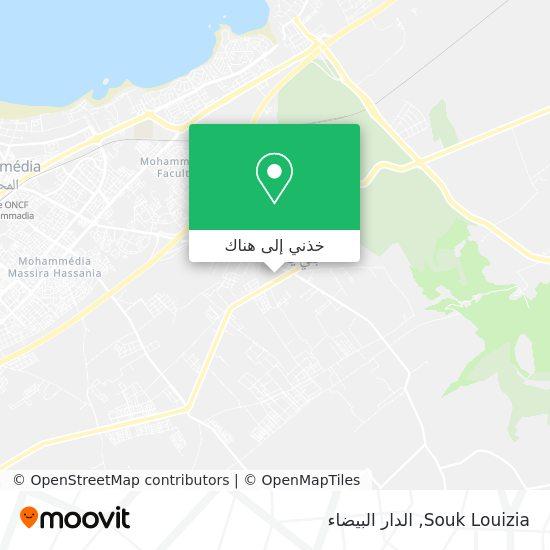 خريطة Souk Louizia