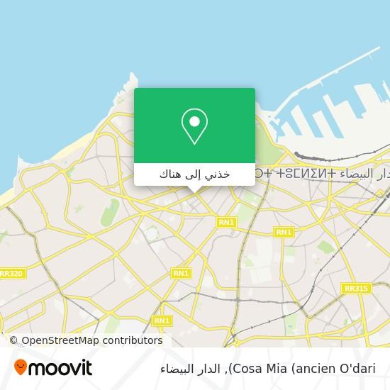 خريطة Cosa Mia (ancien O'dari)