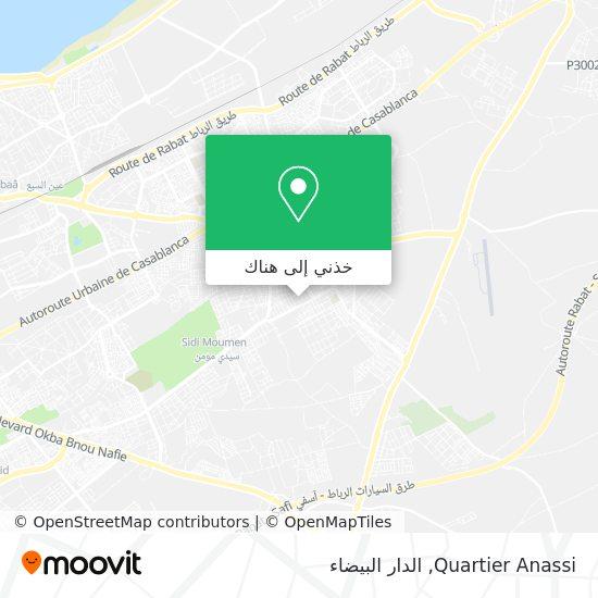خريطة Quartier Anassi