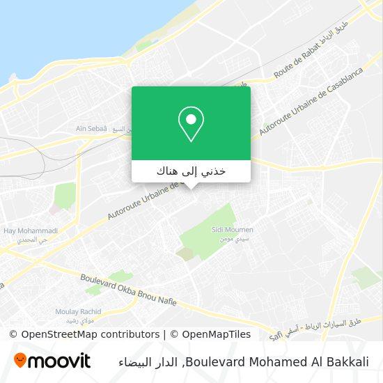 خريطة Boulevard Mohamed Al Bakkali