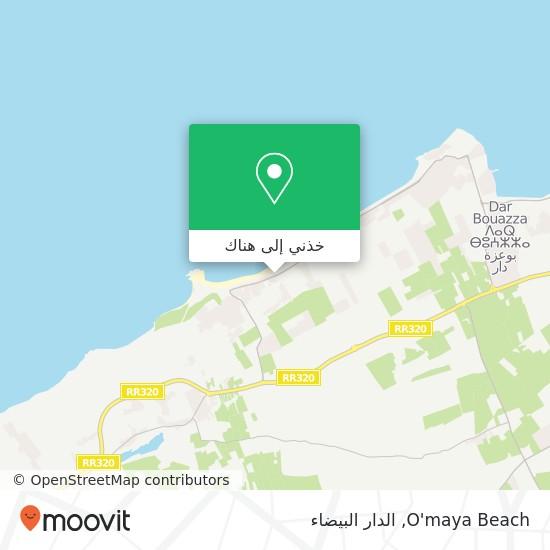 خريطة O'maya Beach