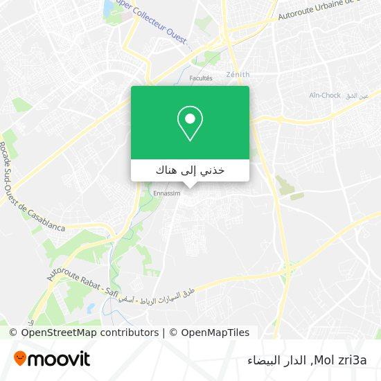 خريطة Mol zri3a