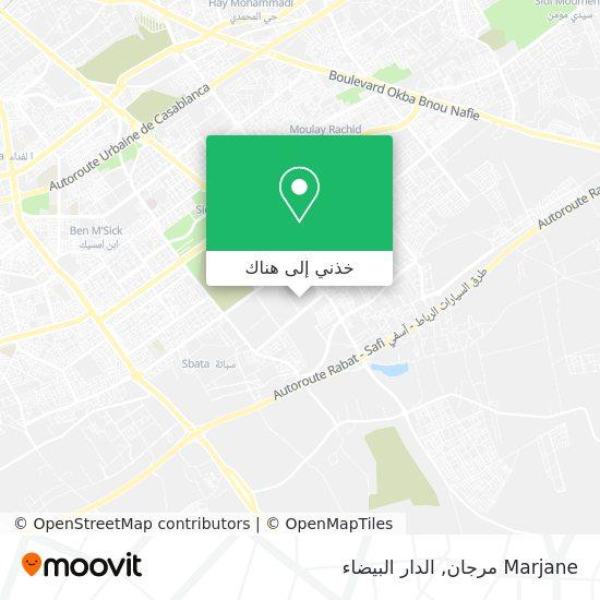 خريطة Marjane مرجان