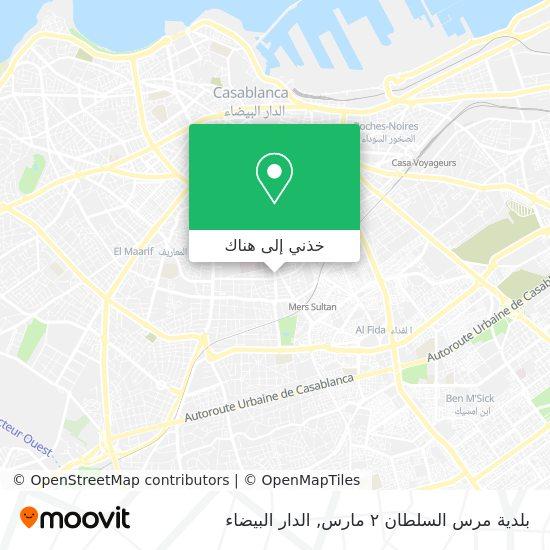 خريطة بلدية مرس السلطان ٢ مارس