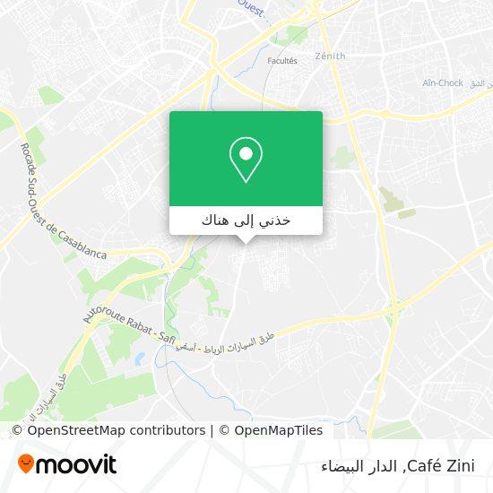 خريطة Café Zini