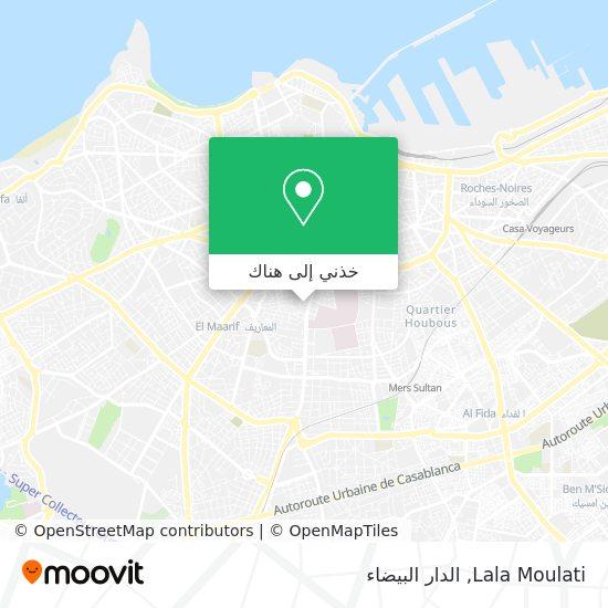 خريطة Lala Moulati