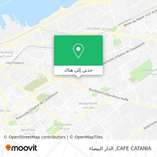 خريطة CAFE CATANIA
