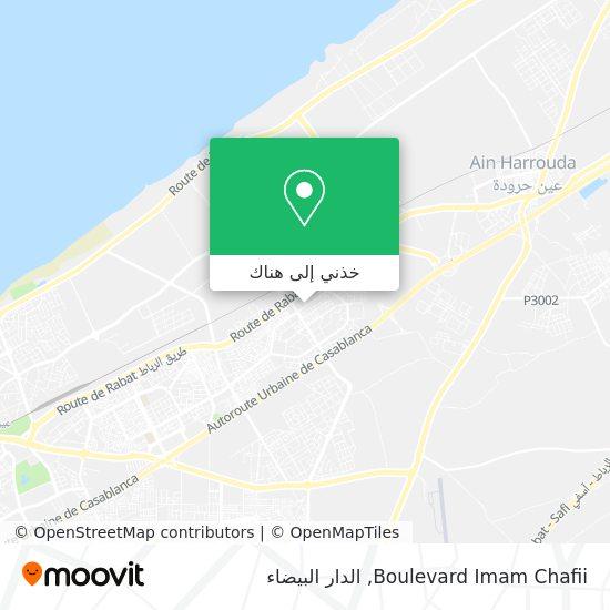خريطة Boulevard Imam Chafii