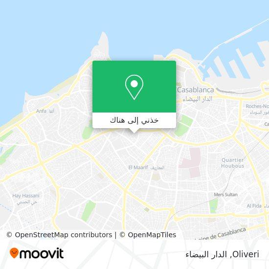 خريطة Oliveri