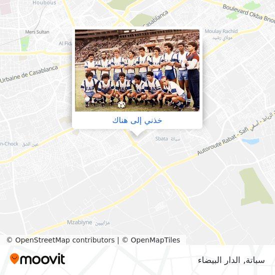 خريطة سباتة
