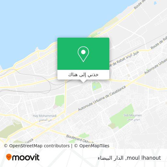 خريطة moul lhanout