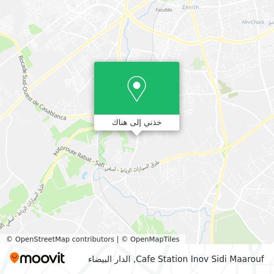 خريطة Cafe Station Inov Sidi Maarouf