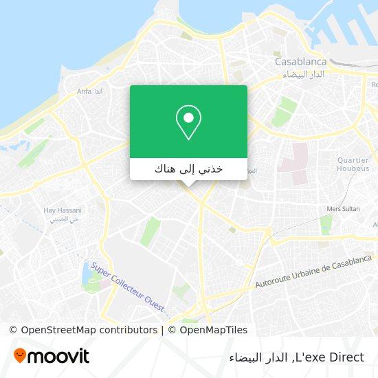 خريطة L'exe Direct