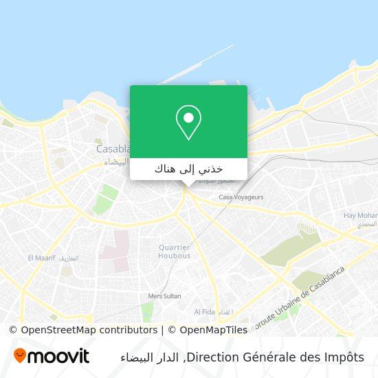 خريطة Direction Générale des Impôts