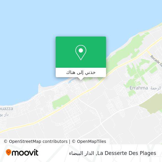 خريطة La Desserte Des Plages