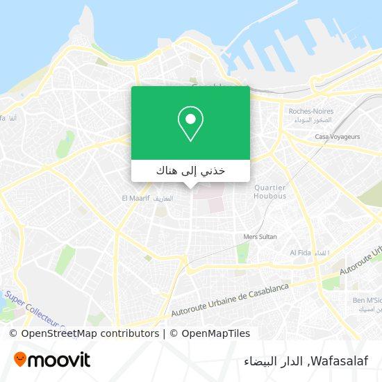 خريطة Wafasalaf